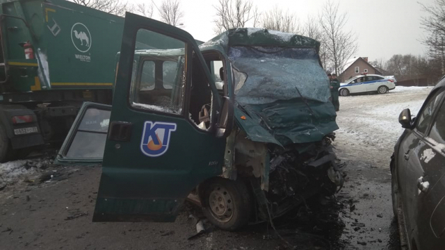 В тройном ДТП на ул. Суворова погиб сотрудник