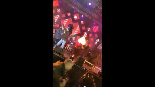 Появилось видео нападения на мэра Гданьска