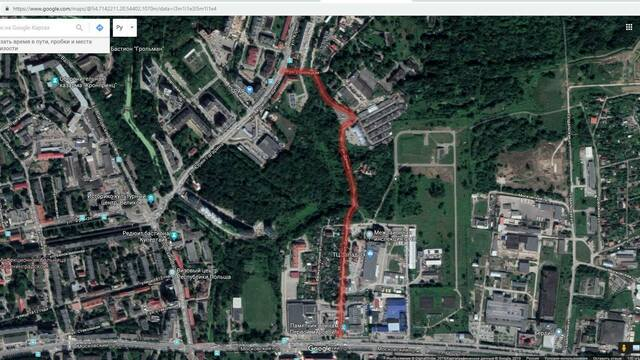 В калининградской мэрии рассказали, как реконструируют Дачную улицу