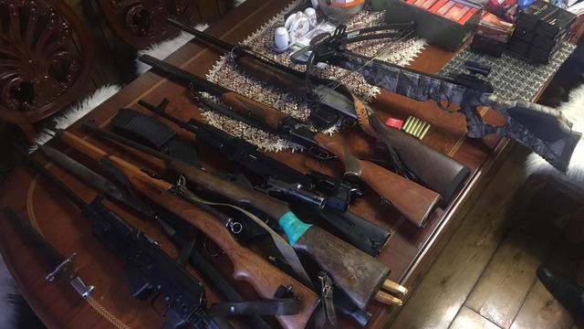 У жительницы Полесска нашли арсенал незарегистрированного охотничьего оружия (фото)
