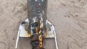 Немецкая торпеда на побережье Балтийской косы оказалась взрывоопасной