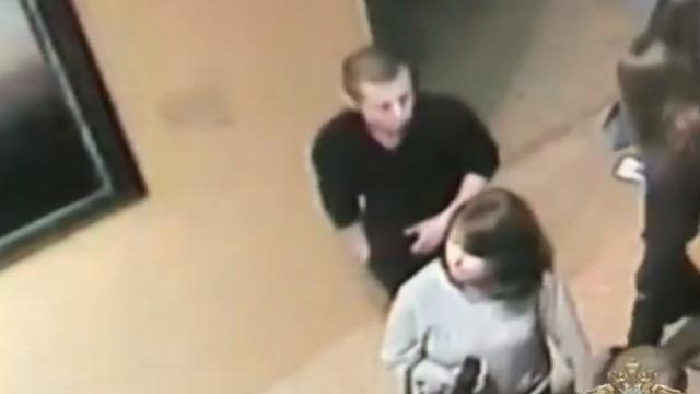 Подозреваемый в краже картины Куинджи из Третьяковки попал на видео