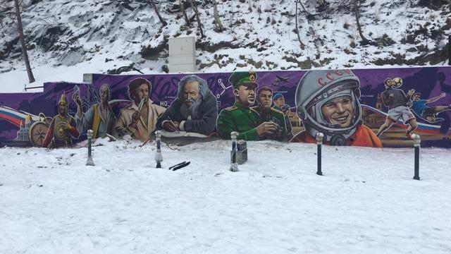 Алиханов — о граффити в Светлогорске: Задумка благая, но реализация ниже того уровня, чем должен быть