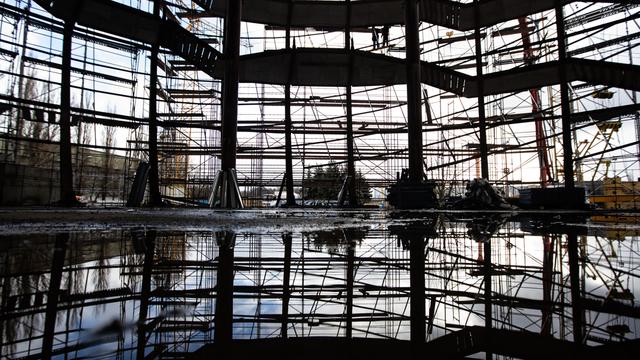 Как в Калининграде идёт строительство нового корпуса-шара Музея Мирового океана (фоторепортаж)