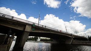 В Калининграде мужчина спрыгнул с Эстакадного моста в Преголю