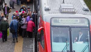 На ул. Киевской из-за подозрительной коробки эвакуировали рельсобус