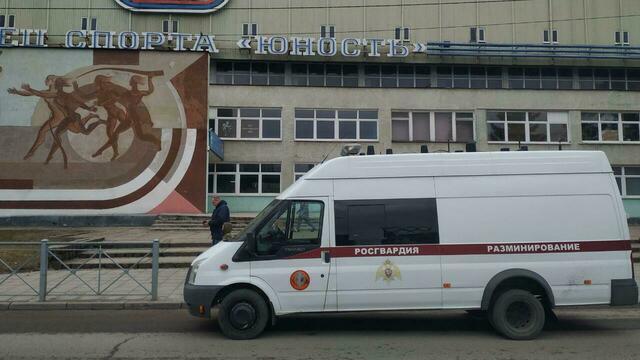 В Калининграде эвакуировали спорткомплекс