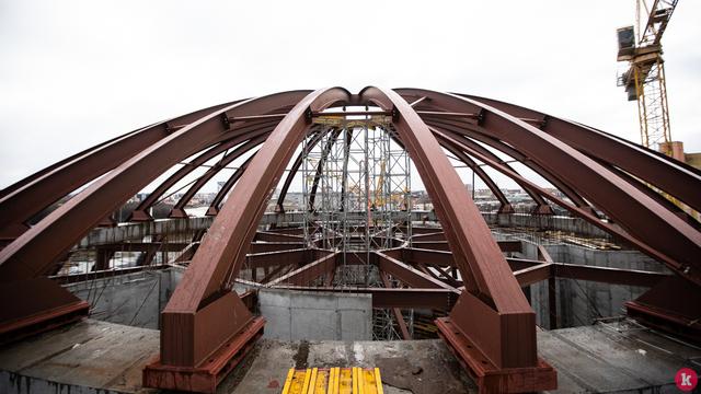 Правительство РФ выделит более 1 млрд рублей на завершение строительства корпуса-шара ММО в Калининграде