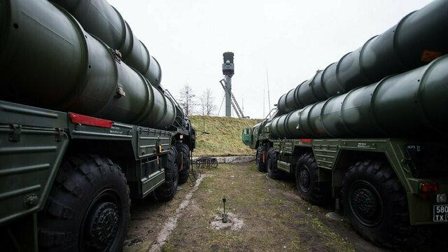 """В интернете опубликовано видео развёртывания ракетных комплексов """"Триумф"""" под Калининградом"""