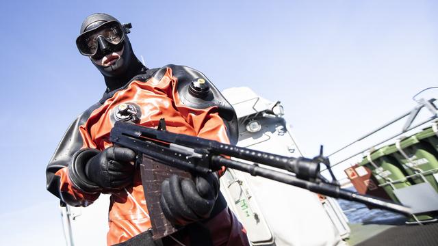 В регионе прошли учения противодиверсионного отряда Балтийской морской базы (фоторепортаж)