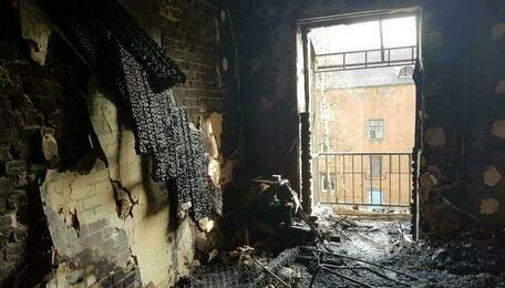СК: в результате пожара на ул. Харьковской погиб восьмилетний мальчик (фото)