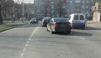 На ул. Невского при столкновении Toyota и Renault пострадала 11-летняя девочка