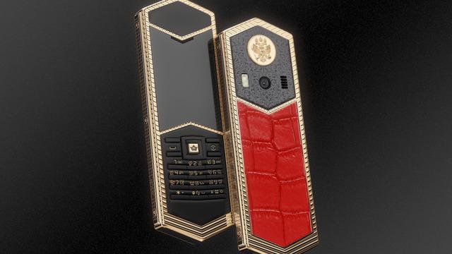 В России создали люксовые телефоны в честь основателей династий и государств