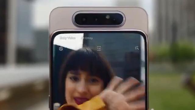 Samsung выпустила смартфон Galaxy А80 с поворотной камерой