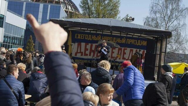 Как калининградцы отмечают День селёдки (фоторепортаж)
