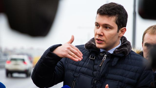 Алиханов назвал самые популярные профессии в Калининградской области