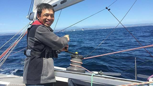 Японец стал первым слепым человеком, пересёкшим Тихий океан на яхте