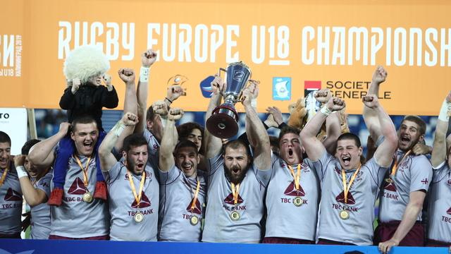 В Калининграде сборная Грузии победила на чемпионате Европы по регби (фото)