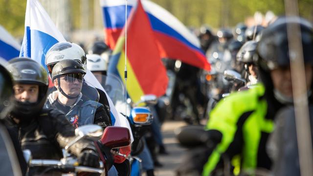 В Калининграде стартовал мотопробег к мемориалу советским воинам в Бранёво (фоторепортаж)