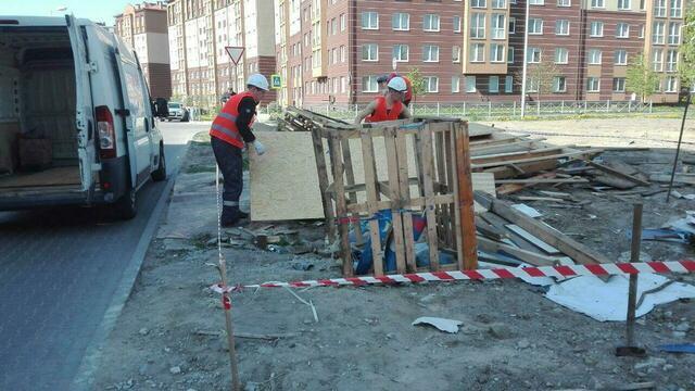В Калининграде освободившуюся после сноса незаконных ларьков землю передадут многодетным семьям