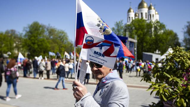 Как в Калининграде отмечают День Весны и Труда (фоторепортаж)
