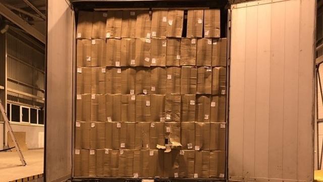 На границе Литвы задержали калининградца с контрабандными сигаретами на 2,1 млн евро