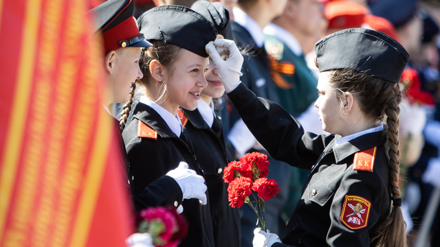 В Калининграде прошёл Парад кадетов (фоторепортаж)