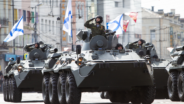 Как в Калининграде прошёл парад Победы (фоторепортаж)