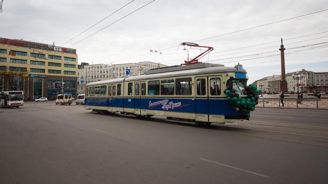 В Калининграде планируют восстановить трамвайное движение возле парка Гагарина