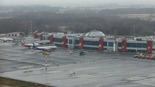 В Храброво из-за тумана утром задержались рейсы из Москвы, Санкт-Петербурга и Липецка