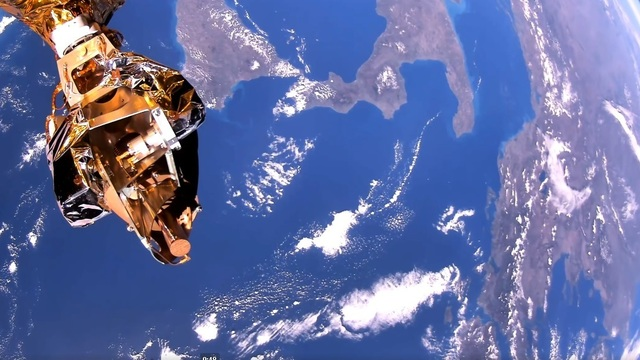 Созданный в России спутник первым в мире снял видео Земли в формате сверхвысокой чёткости