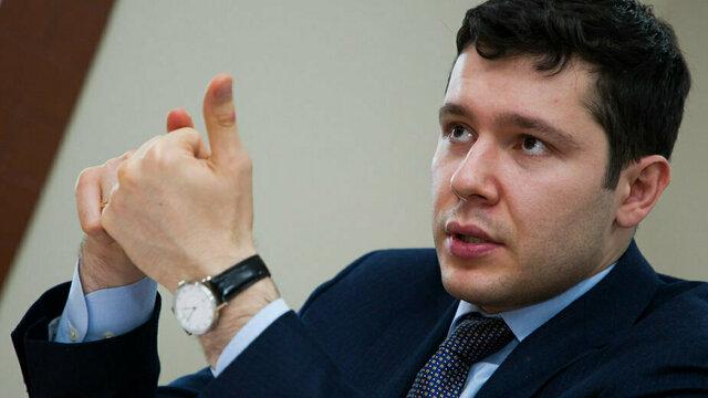Алиханов за год увеличил свой доход на 748 тысяч рублей