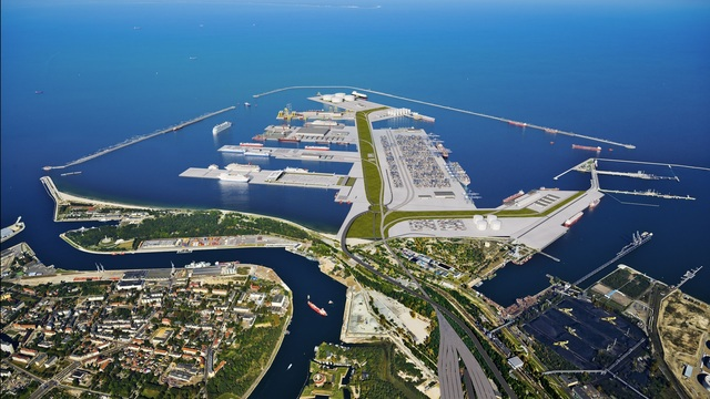 В Гданьске представлен проект нового Центрального морского порта (фото)