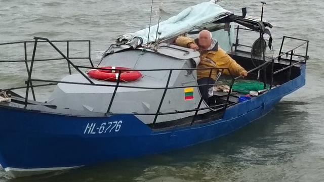Пограничники задержали двух литовских рыбаков в Куршском заливе