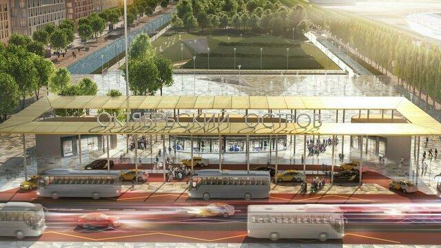 Спортивный парк и Янтарный сад: опубликован мастер-план развития острова Октябрьский (фото)