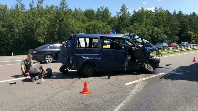 В аварии под Гвардейском пострадало пять детей, один находится в крайне тяжёлом состоянии
