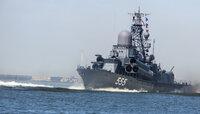 В Балтийске прошла репетиция военно-морского парада в честь Дня ВМФ (фоторепортаж)