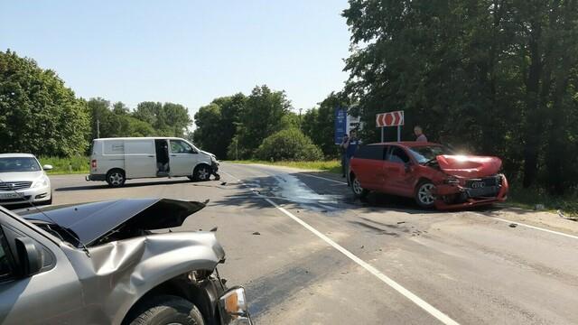 В тройном ДТП на светлогорской трассе пострадал шестилетний мальчик