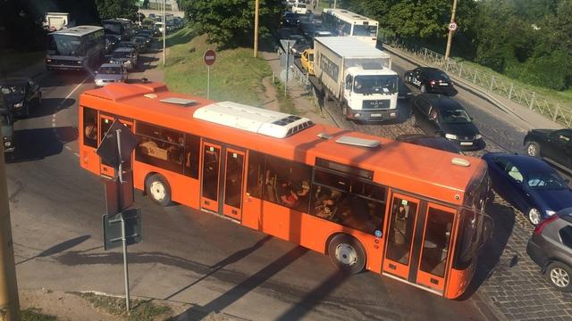 В Калининграде из-за ремонта на Киевской несколько улиц встали в пробках (фото)