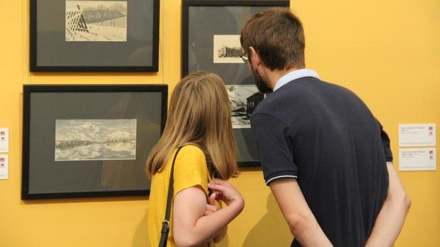 В Калининграде открылась выставка работ Остроумовой-Лебедевой из собрания Русского музея