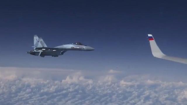 СМИ: приблизившийся к самолёту Шойгу истребитель принадлежит ВВС Испании