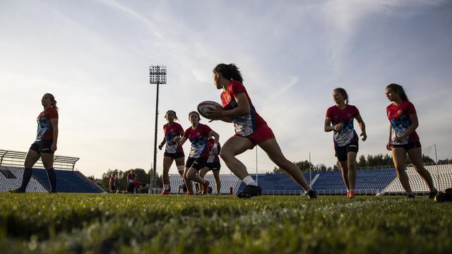 В Калининграде прошла тренировка женской сборной России по регби (фоторепортаж)