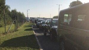 На погранпереходе Мамоново — Гжехотки образовалась километровая пробка