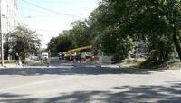 Перекрыто движение на ещё одном участке ул. Киевской (фото)