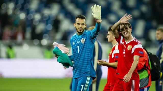 Черчесов объявил состав команды России на матч с Казахстаном