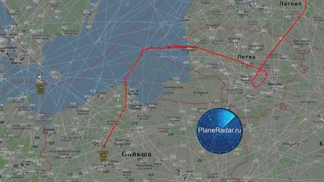 Два британских самолёта-разведчика приблизились к границам Калининградской области