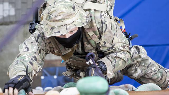 На Балтфлоте прошла тренировка противодиверсионного отряда (фоторепортаж)