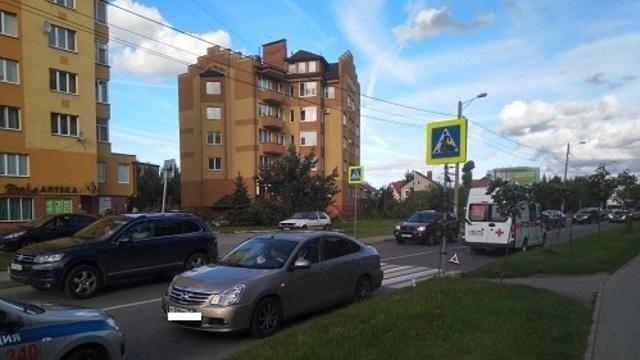 Полиция рассказала подробности ДТП с женщиной и ребёнком на Гайдара
