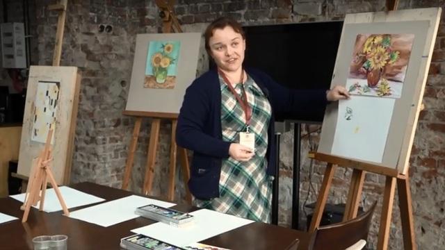 В калининградском Музее изобразительных искусств открылась арт-мастерская