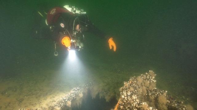 Калининградские дайверы обнаружили на дне Балтики  фрагменты трёх судов (фото)
